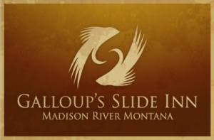Guided Fly Fishing Madison River | Lodging | Kelly Galloup's Slide Inn Retina Logo