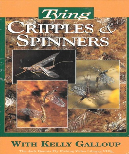 Tying Cripples and Spinners VHS Tape