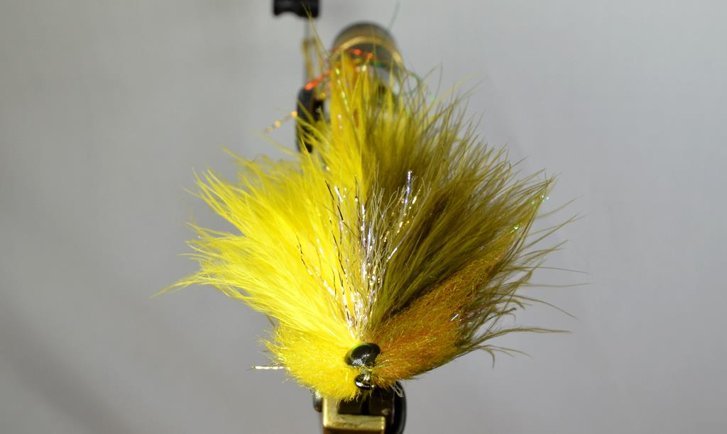galloup's flatliner olive yellow front
