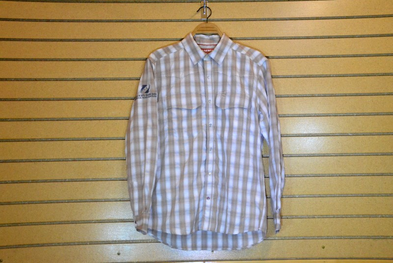 simms big sky ls shirt with slide inn logo shiitake