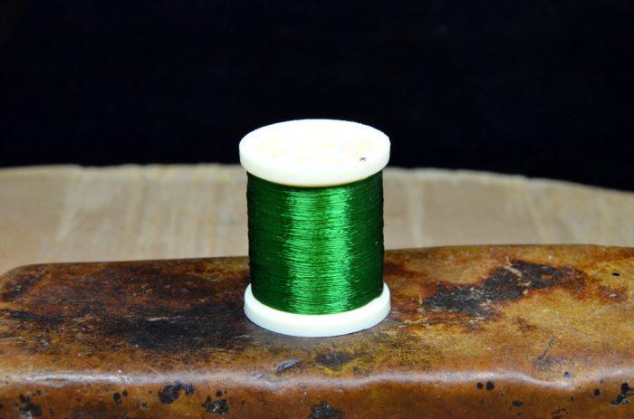 danville 4 strand rayon floss kelly green