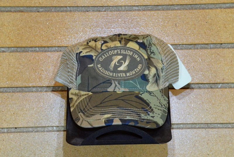 slide inn camo hat forest camo